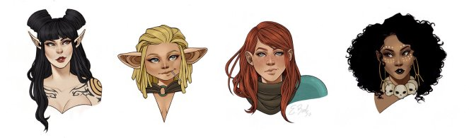 rat_queens_portraits_by_elizabethbeals-d8tzt1p