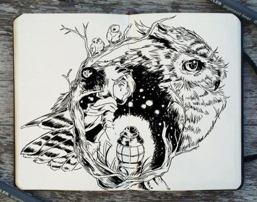 365-days-of-doodles-illustrations-gabriel-picolo-5