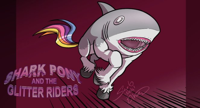 sharkpony_running_wallpaper_by_neilak20-d739vam