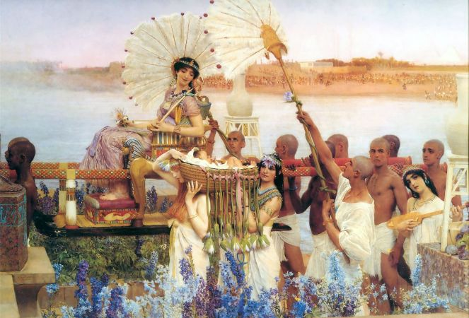 1280px-1904_lawrence_alma-tadema_-_the_finding_of_moses